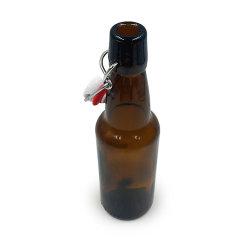 330 مل سعة 500 مل من كهرماني مرح 1000 مل فارغ مخصص متأرجح الجزء العلوي سعر زجاجة البيرة