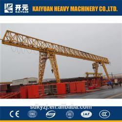MH – leichter Einträger-Gantry-Kran mit 3t Spannweiten und 12m Hubhöhen 6m für Gießerei