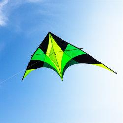 Los niños regalo decoración Triángulo verde Power Kite niños juguetes promocionales