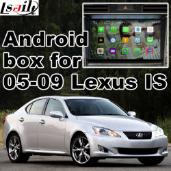Car Video Interface 2005-2009 Lexus Ist Es Rx GS Ls, Android Navigation Rear und 360 Panorama Optional