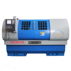 Ck6150 Processus horizontal d'Engrenage tour CNC