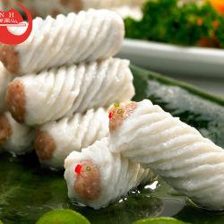 Hot Pot Wihte marisco congelado Bola de peces de agua dulce