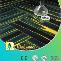 광고 방송 12.3mm Mirror Teak Water Resistant Laminate Flooring