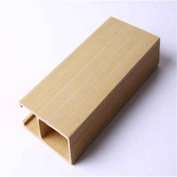건축재료 WPC 천장 목제 플라스틱 합성물 WPC 단면도