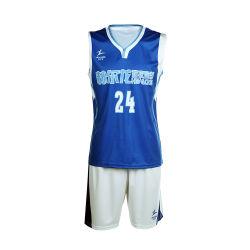 Top Qualità Commercio All'Ingrosso Basket Wear 100% Sublimazione Di Poliestere Set Uniforme Basket