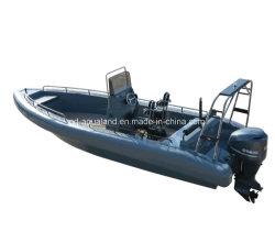 O Parque Aquático Aqualand 26pés 8m Non-Air tubo cheio de patrulha de resgate de costela /EVA Soliad Lama de espuma rígida de Barco a Motor infláveis (costela800)