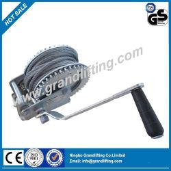 Wire Rope treuil manuel à main industriels pour la retenue de charge du fret