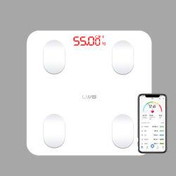 in Schaal van de Samenstelling van het Lichaam van het Gewicht van de Badkamers de Digitale