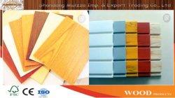 Materiales de Construcción Filmed-Faced MDF de alta calidad para muebles y de oficina