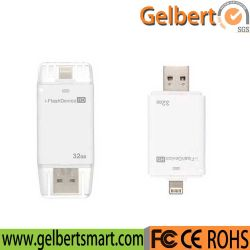 iPadのiPhoneのための私フラッシュ駆動機構USB OTGの記憶USBのディスク