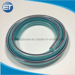 O PVC plástico reforçado com fibra de Alta Pressão Hidráulica Mangueira trançada