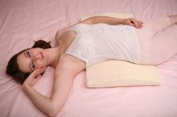 Валик Lumbar поддержки задней части стельности подушки поясничной поддержки пены памяти