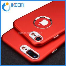 Luxe + bouclier métallique souple en silicone pour iPhone 5 6 7/ 8 Plus X Cas du couvercle arrière