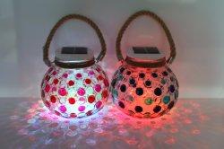 Yard-Garten-Fühler-Tiffany-Lampe der Sonnenenergie-LED helle im Freien