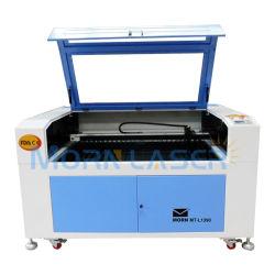 La Chine en cuir en acrylique de bois d'usine 1390 Gravure laser 3D