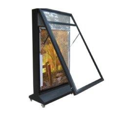 광고용 금속이 있는 LED 방수 조명 박스(HS-lb-025)