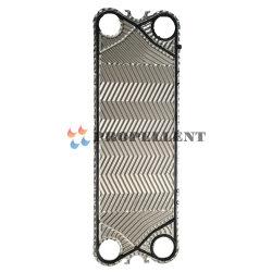 Intercambiador de calor de acero inoxidable de 0.6mm MX25b de la placa de tipos y la aplicación