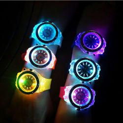 Silicone LED Watch#V565 lampeggiante del Wristband del silicone