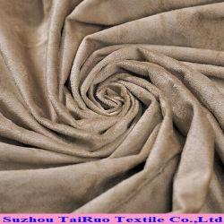 Micro tessuto 100% della pelle scamosciata del poliestere per i panni