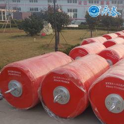 Boe cilindriche d'attracco marine di sostegno della superficie della boa della gomma piuma di EVA