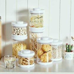 Pilha fácil cozinha os alimentos para conjuntos de canister com vazio de PAC