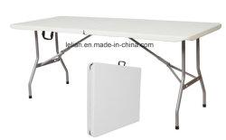 Mobilier extérieur en PEHD Table et chaise fixés pour les événements de mariage (LL-WST021)