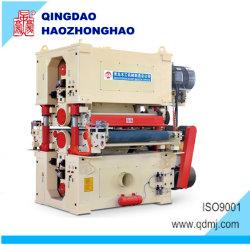 máquina para trabalhar madeira Double dois lados duas cabeças largas lixadora de lixagem da Correia