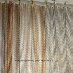 Яркие декоративные звено цепи Сетка стальная шторка для гостиной