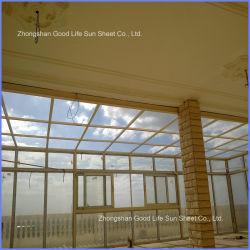 Folha de policarbonato de boa qualidade para Material abrigado num edifício