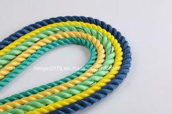 Corde Hailun PP 3 brins de fournisseur de lignes d'amarrage marque la ligne