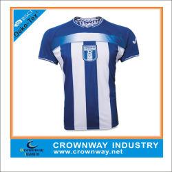 Bon marché de gros personnalisé sublimé maillot de football authentique / Soccer Jersey