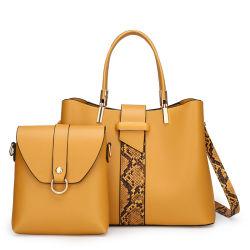 Distribuidor de moda Design Senhoras Crossbody mulheres marca ombro de luxo do mercado grossista mulher PU Leather Tote Wallet Bolsa Definir Guangzhou Lady Outros mala