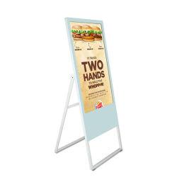 En vallas publicitarias de 32 pulgadas LCD portátil quiosco Digital Signage