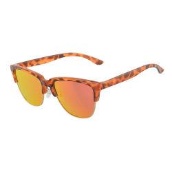 卸し売り循環ガラス明らかにレンズの円形のEyewearの光学フレームのサングラス