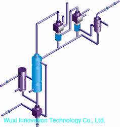 Hciのストライパーシステムか塩酸のガスの発電機のプラント