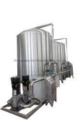Automatique de l'emballage d'eau pure minérale RO Le traitement de purification de l'embouteillage de remplissage usine purificateur de filtre à osmose inverse du système de la machine