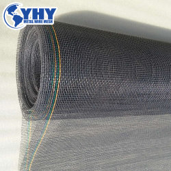 10X10 com proteção acústica rede mosquiteira Rolete de tela da janela de fibra de vidro por grosso