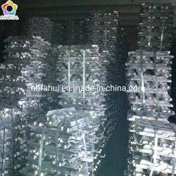 Lingotto 99.99% dello zinco, lingotto dello zinco e lingotti del metallo, lingotti rifusi del cavo