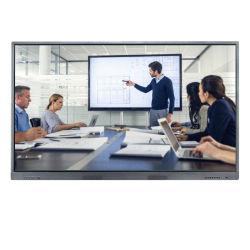 """75 """" SMART Board 4K TV à écran LCD panneau tactile Tableau blanc interactif pour l'éducation"""