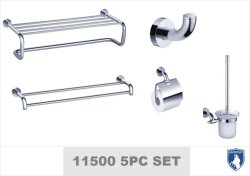 Salle de bain en laiton de haute qualité Définir l'accessoire de la salle de bains (11500 série)