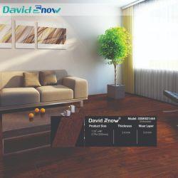 Lvt Luxury Vinyl Tiles 장식 클릭 목재 패턴 연동 PVC 바닥