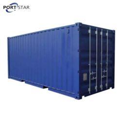 Contêiner de 20 Pés contentor de carga seca para o transporte marítimo