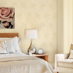 工場価格のNonwoven刺繍の壁紙のホーム装飾