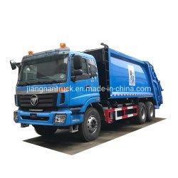 Foton Auman 20 CBM compacteur de déchets pour la vente de camion compacteur de déchets du chargeur arrière de la foutaise chariot La collecte des ordures compacteur à déchets chariot