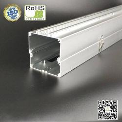 Alloggiamento/dissipatore di calore/tubo di alluminio quadrati su ordinazione per uso di illuminazione