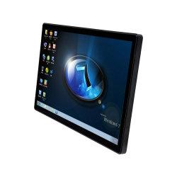 Tragbarer 1080P-LCD-Gaming-Monitor Cjtouch 23,8 Zoll mit Pcap Touch Glas-Abdeckung auf der Vorderseite