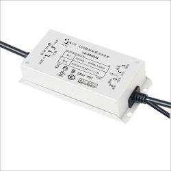 مصدر طاقة LED ثابت تيار مستمر بحقيبة الألومنيوم بقدرة 80 واط مع UL TUV CCC CE CB RoHS