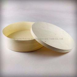 円形の正方形の食糧チーズ記憶装飾的なボックス容器