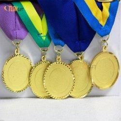 Diseño libre de metal personalizados baratos para la Medalla de promocionales