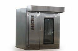 Gas Bakkerij Rotary Steam Revolving Bread Pizza oven machine
